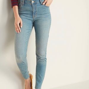 Old Navy Mid-Rise Super Skinny Jeans💕